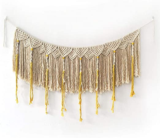 Tapiz Decorativo borlas de oro Elegancia