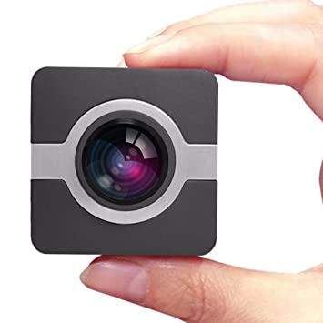 MATECam Mini Cámara de Acción 4K-HI Wifi, Full HD, 16MP, Lente ...