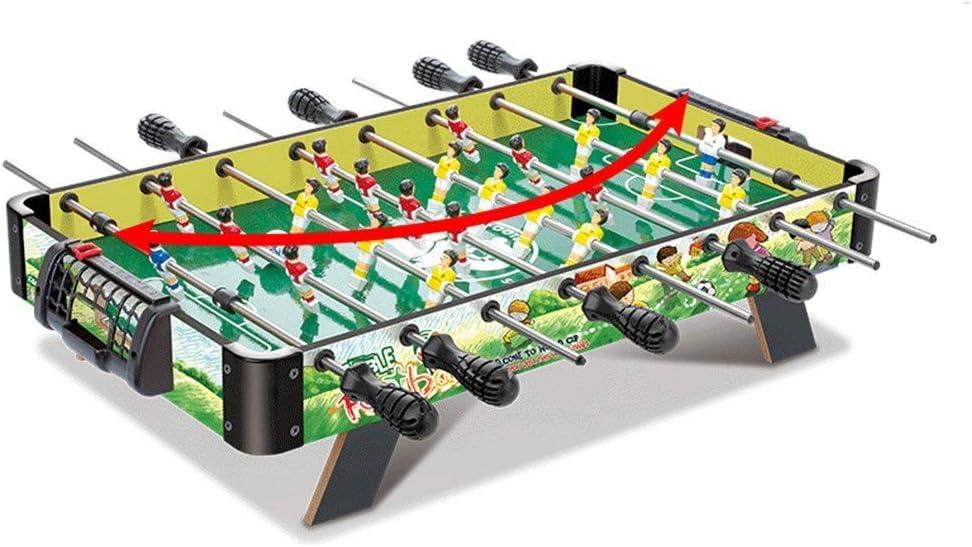 LMCLJJ Juegos y accesorios de sobremesa de futbolín, tamaño mini: divertido, portátil, futbolines de fútbol de futbolín - fútbol de mano recreativo for salas de juegos, arcadas, bares, for adultos, no: Amazon.es: