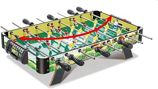 LMCLJJ Juegos y accesorios de sobremesa de futbolín, tamaño mini ...