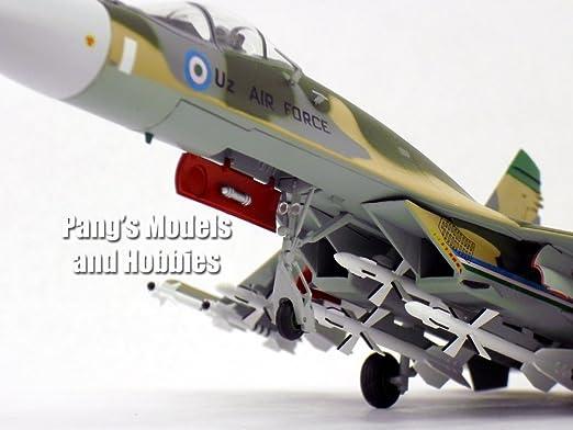 Amazon SU 27 Flanker Uzbek Air Force 1 72 Scale Diecast Metal Model Toys Games