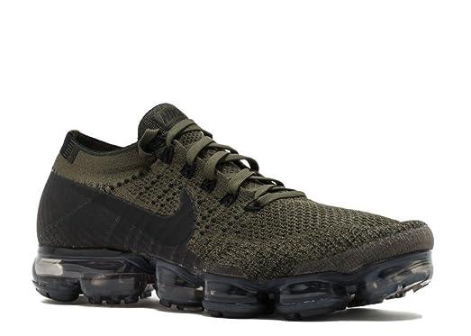 063261cf89bda Nike Air Vapormax Flyknit White Blue Mens Running Shoes
