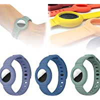 Voor Apple Airtag siliconen band armband beschermhoes, super lichte zachte huidvriendelijke tracker horlogeband…