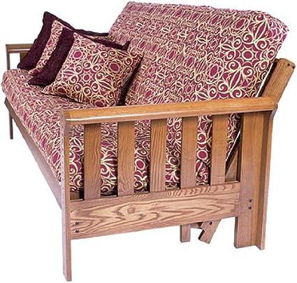 august lotz signature collection monticello futon chair amazon    august lotz signature collection monticello futon      rh   amazon