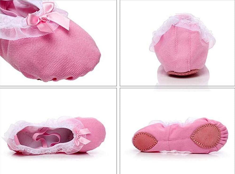 Kids Classic Ballerina Flats Pink-EU 32//1 M US Little Kid
