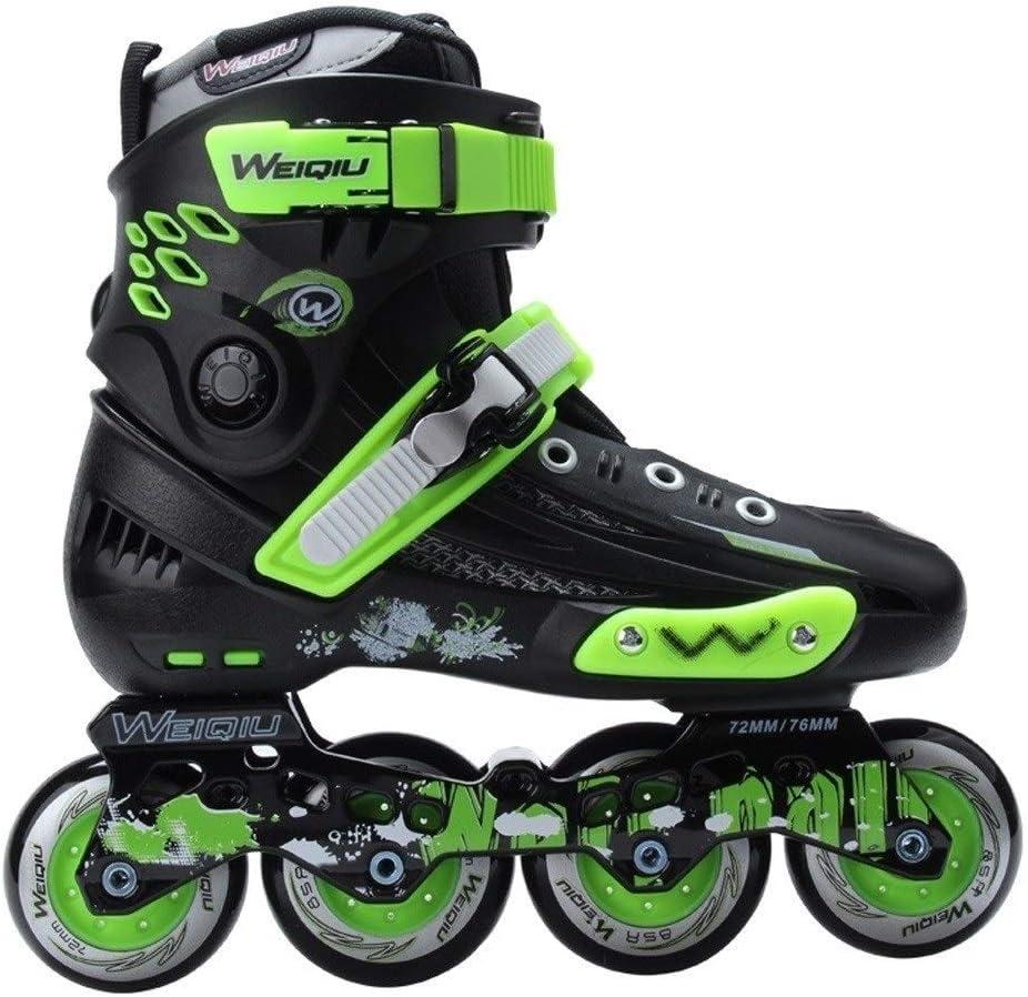 ローラースケートの大人のインラインプロの空想の男性と女性のローラーの靴、EU35-44 (Color : B, Size : EU40) B EU40