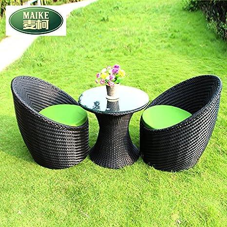 lpkone-Plancha sillas de mimbre, mesas de café y sillas ...