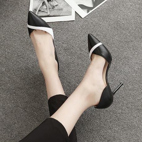 Donna 35 Fashion Scarpe Tacchi estive Fine bassa femminile con alti Primavera scarpe Donna Bocca A9Cm Jqdyl alti New Tacchi YBxqTzn4w