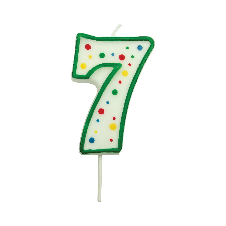 PME - Candela Verde Numero 7 Piccola CA057