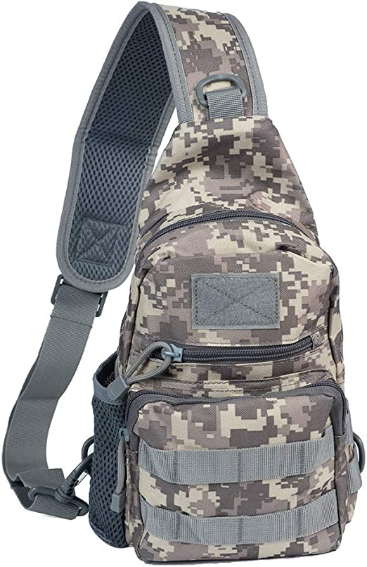 New Outdoor Molle Sling Military Shoulder Tactical Backpack  Camping Hiking