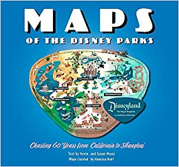 graphic relating to Printable Map of Disneyland called Maps of the Disney Parks: Charting 60 Yrs towards California