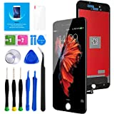 """Keytas for iPhone 8 Plus Screen Replacement Kit Black 5.5"""" LCD Display iPhone 8 Plus 5.5 Inch 3D Touch Screen Digitizer Frame"""