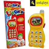 Zest 4 Toyz Learning Mobile Phone Toy for Kids with Image Projection, Multi Color