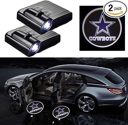 2×For Honda Logo LED Car Door Welcome Laser Projector Courtesy Shadow Light US