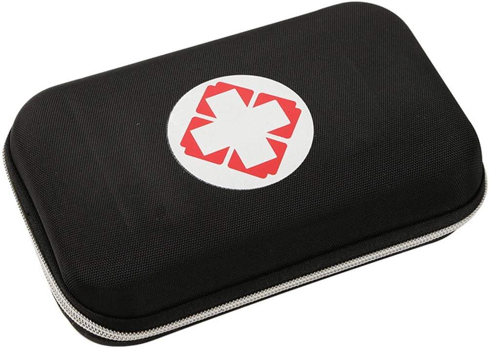 Bolsa de viaje portátil En primer lugar al aire libre Aid Kit bolsa vacía la caja Oxford supervivencia de la caja de Emergencia de Rescate de EVA para el hogar del campo del recorrido