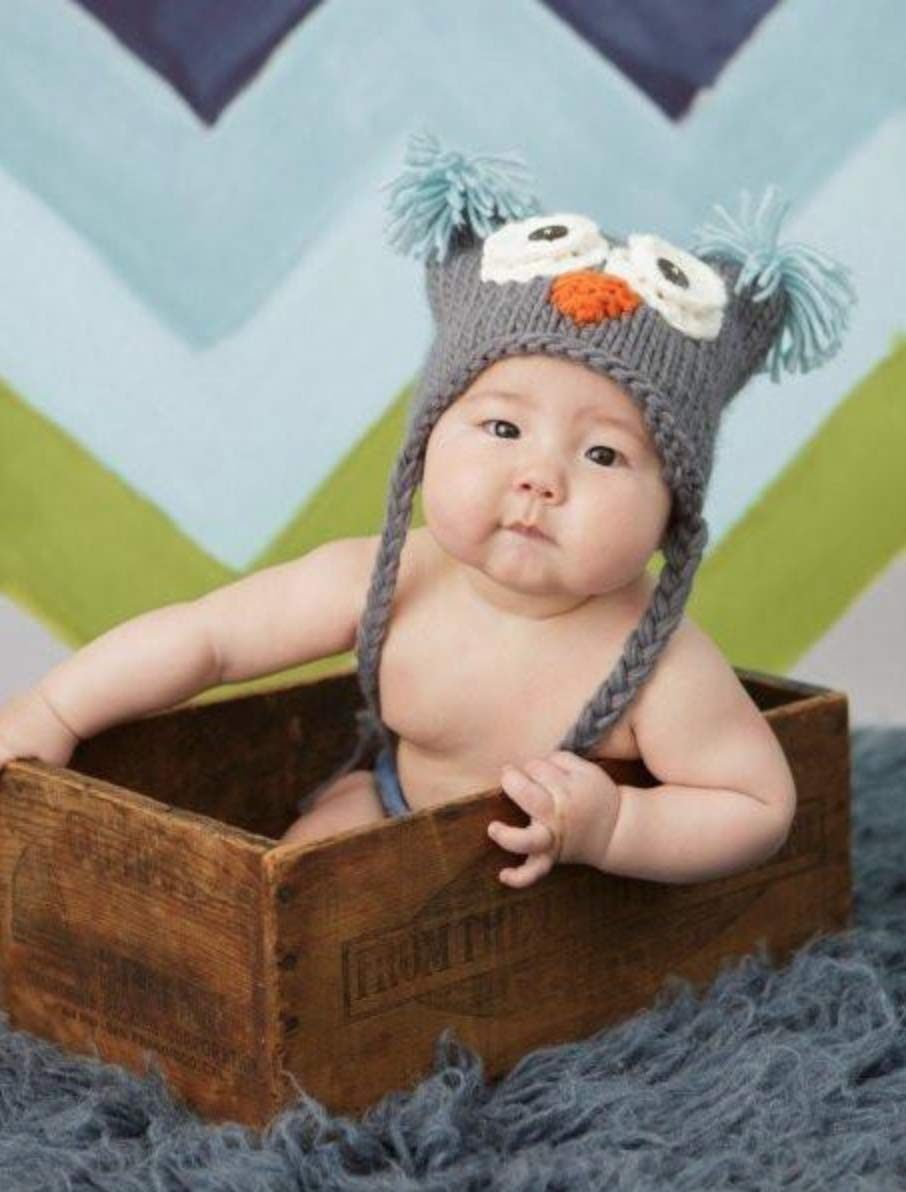 ac73dd0957523 Amazon.com  Otis Owl Hand Knit Hat (Small 12-24 Months