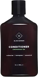 product image for Blind Barber Lemongrass Tea Conditioner - Hydrating Sulfate & Paraben Free Conditioner with Coconut Oil for Shiny Hair - Frizz & Tangle Control for Men - Good for All Hair Types (12oz / 350ml)