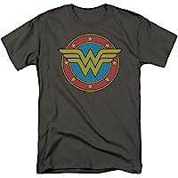 Popfunk Wonder Woman Vintage Logo DC Comics T Shirt