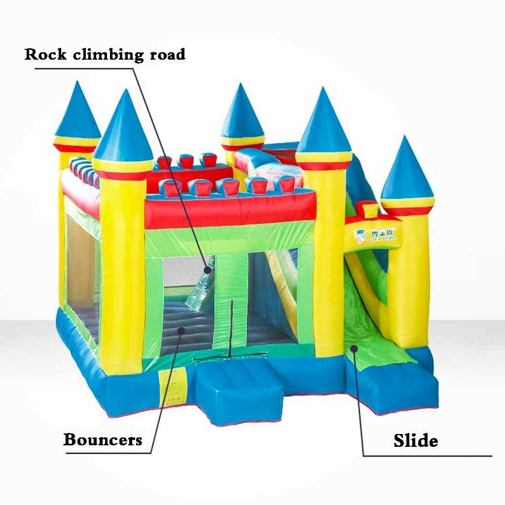 Daxiong Castillo Inflable para niños pequeños Fortaleza ...