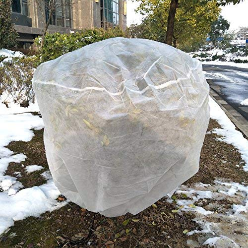 OriginA Plant Covers Frost Freeze Protection Bags for Outdoor Trees Shrub Jacket Season Extension,0.95oz,40″x47″
