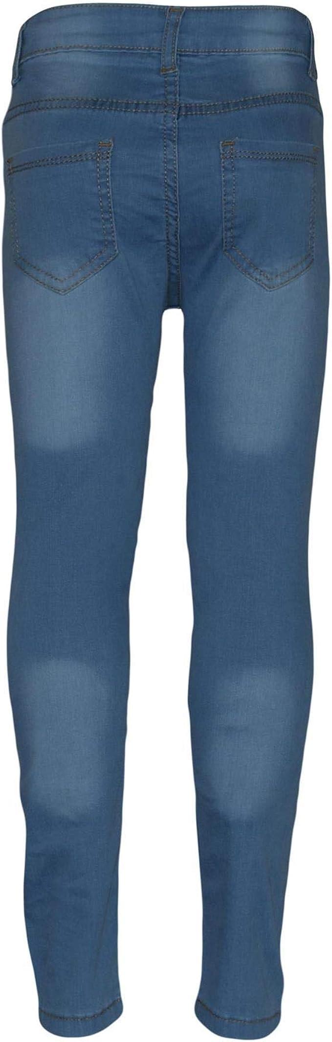 Filles Denim gilet bleu jean Veste Sans Manches Gilet Âge 3 7 8 9 10 12 ans