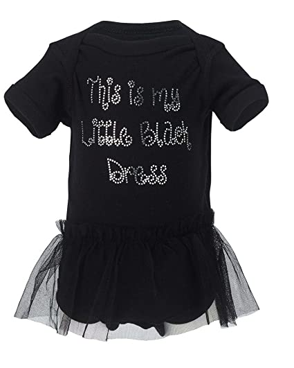 Amazon Chloe Madison This Is My Little Black Dress Baby Girl