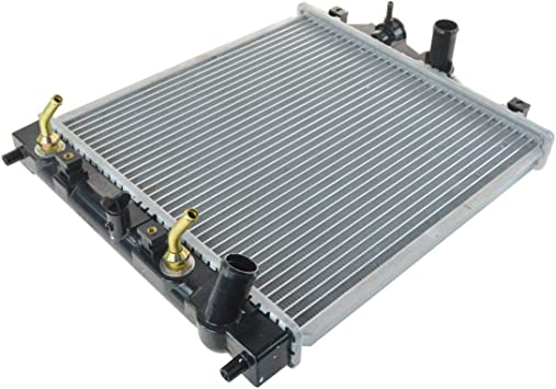 For Honda D15//16//B18 1.5L//1.6L//1.8L I4 MT 2-Row Dual//Double Core T-6061 Aluminum Radiator
