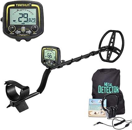 ANLW Detector De Metales Profesional para Adultos Buscador De Buscador De Oro Buscador De Tesoros Equipo De Detección Profundidad Subterránea 2.5M: Amazon.es: Deportes y aire libre