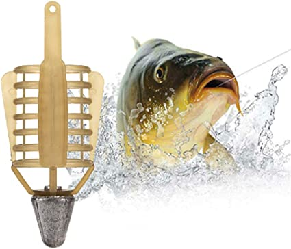 Carp Fishing Feeder Fishing Bait Lure Cage Fishing Cage Feeder Accessories