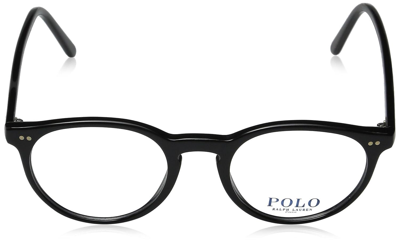 787624fb95b Amazon.com  Polo Men s PH2083 Eyeglasses Shiny Black 48mm  Shoes