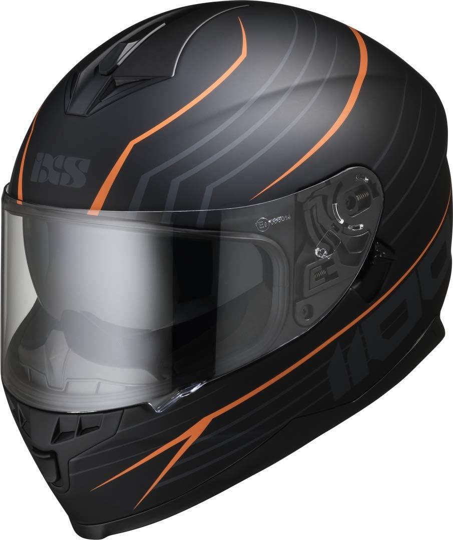 61//62 IXS 1100 2.1 Helm Schwarz//Gelb XL