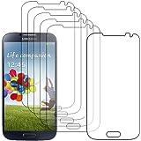 ebestStar - pour Samsung Galaxy S4 i9500 i9505 - Lot x6 Film Protection d'écran anti rayures Protecteur Transparent [Dimensions PRECISES de votre appareil : 136.6 x 69.8 x 7.9 mm, écran 5'']