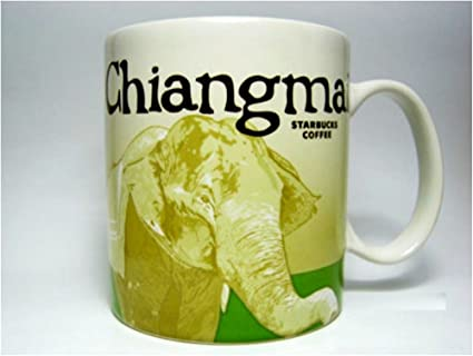Collector Cup Chiangmai City New Mint Starbucks Tea Series Coffee Thailand Mug Y6v7gybIf