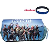 Neceser Fortnite Remycoo, double-layer, gran capacidad. Bolsa para lápices, caja