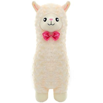 Amazon Com Winsterch Cute 18 Stuffed Llama Alpaca Animal Toy Plush