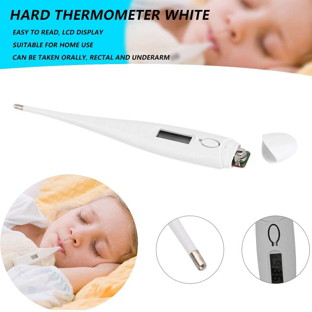1PCS Mazurr Professional Precision Thermometer for Kids Babies Adults Children Digital LCD Display Fever Heat Temperature Meter