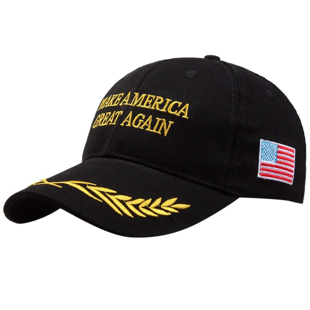LHWY Femmes Hommes Casquettes de Baseball Make America Great Again Hat Ensemble De 2 Casquettes De Baseball Ajustables