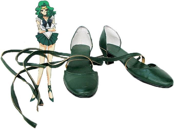 Telacos Sailor Moon Sailor Saturn Hotaru Tomoe Cosplay Shoes Boots Custom Made 1