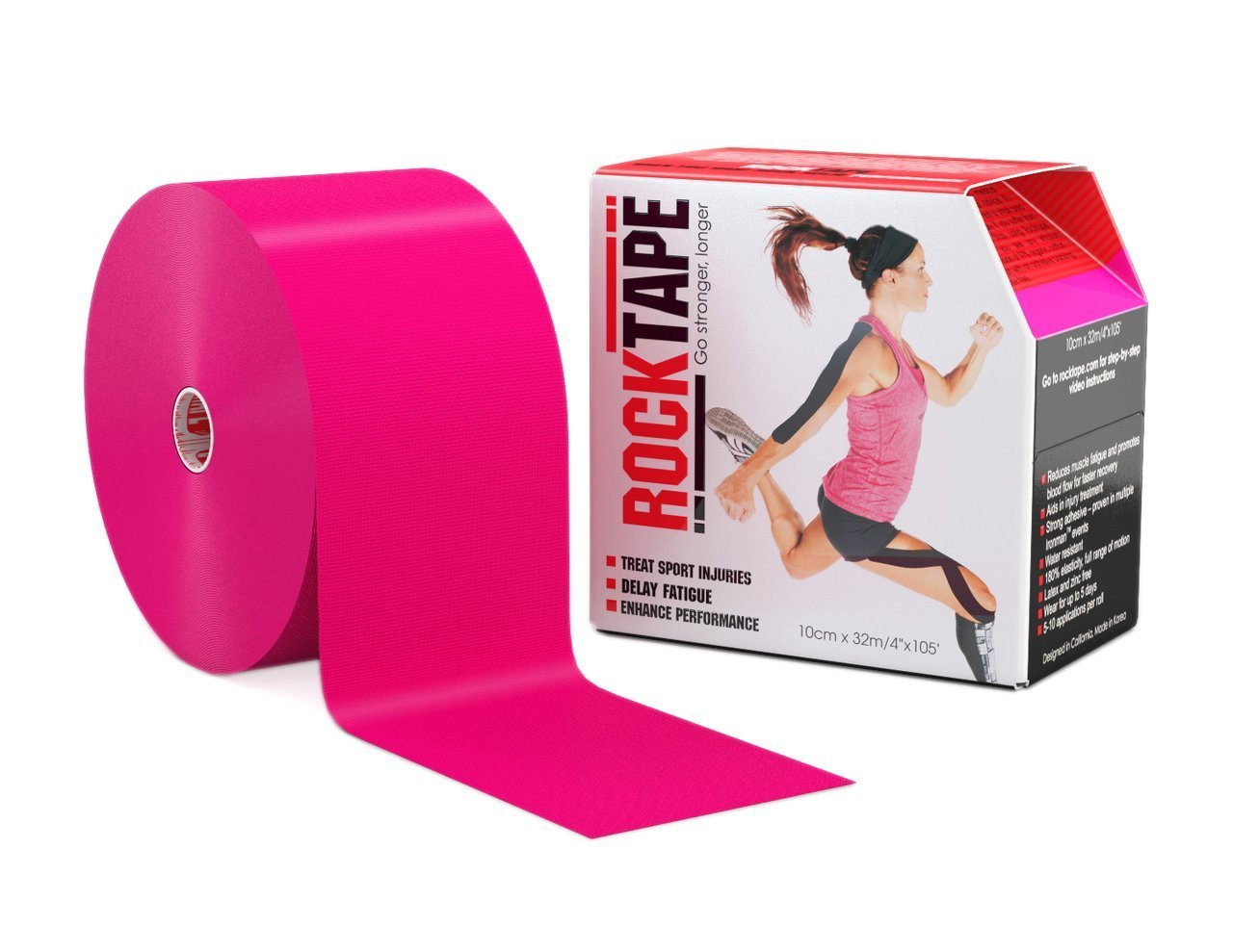 Rocktape, Pink, 2 Inch by Rocktape