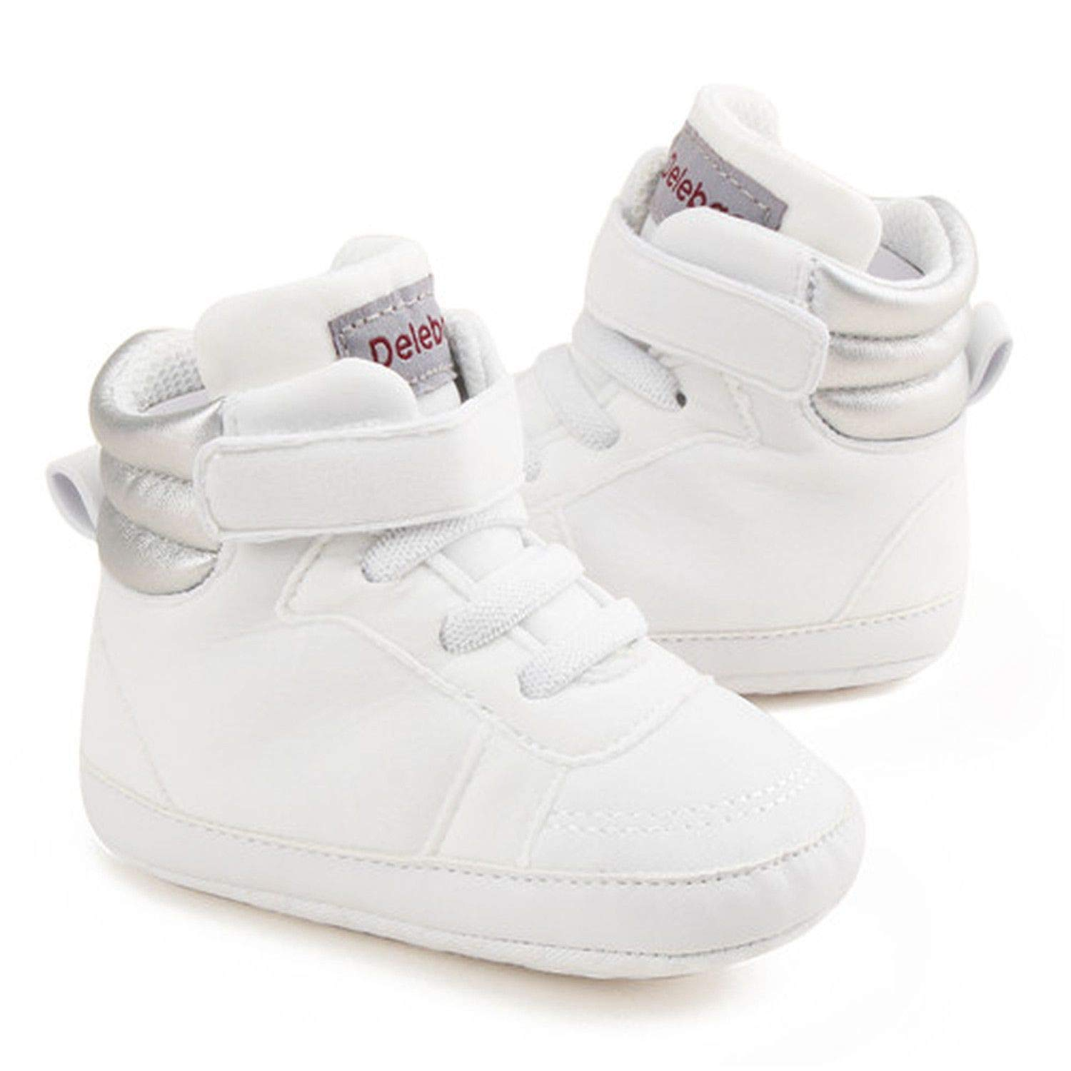 Autumn Spring Soft Bottom Toddler Shoes Baby Shoes Cotton Shoes Keep Warm Lace Up First Walkers