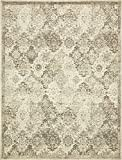 Vintage Traditional Overdyed Beige 9′ x 12′-Feet St. Johns Collection Area rug – Living Dinning Room Bedroom Rugs and Carpets