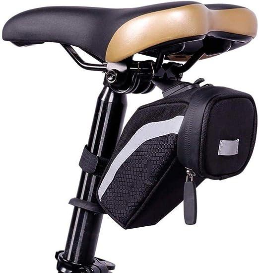 HH-HK Bolsa De Sillín De Bicicleta Asiento Debajo De La Bolsa De ...