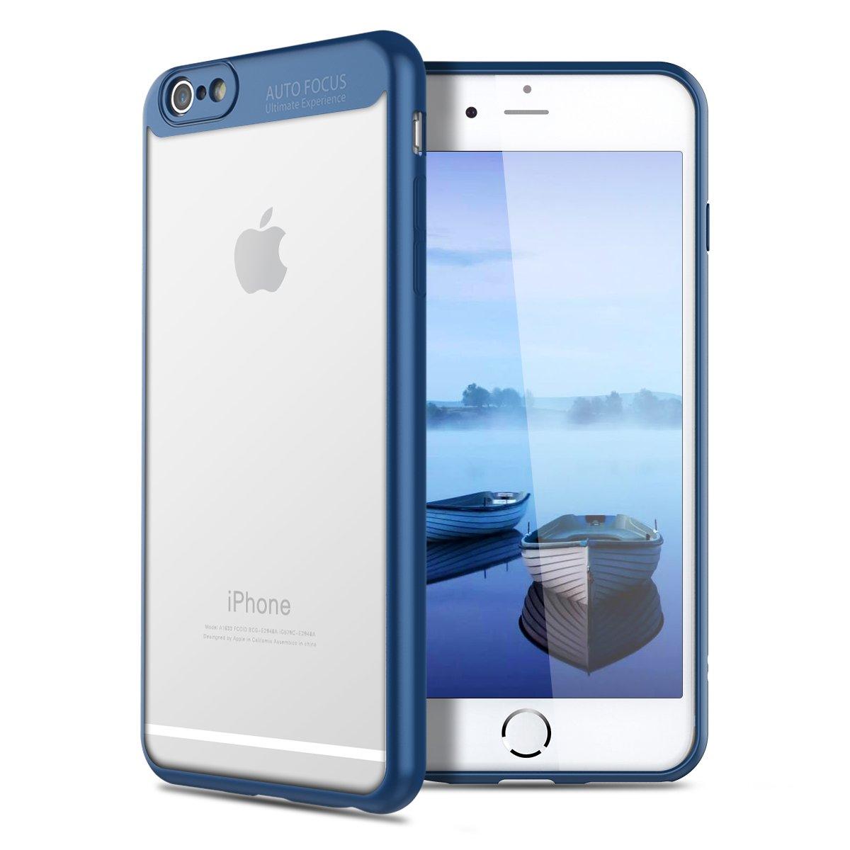 VemMore Cover iPhone 6S / iPhone 6 Custodia Cover Hard PC Trasparente Crystal Clear 360 Gradi Protezione Slim Sottile Case [Antigraffio, Antiurto] in Plastica Dura Bumper Caso Cover Protettiva per iPhone 6S / iPhone 6 - Rosa