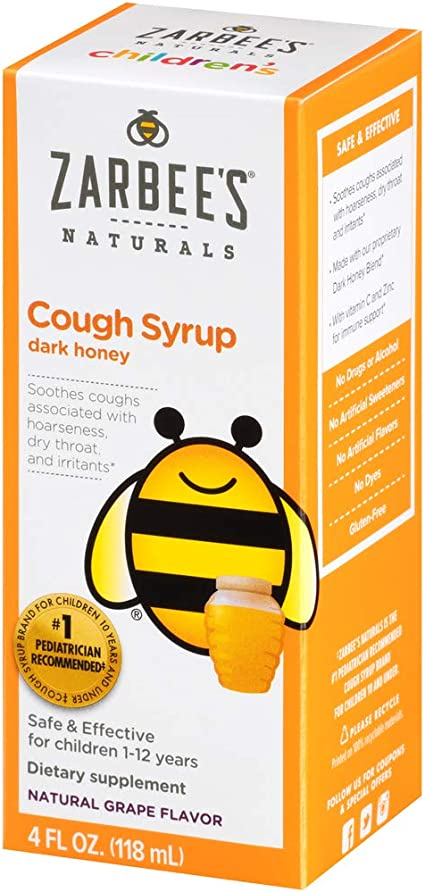 Zarbee's Children's Cough Syrup for any variety, 4 fl. oz.