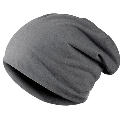 Knit Hat – All4you hip-hop Cap Beanie sombrero invierno Slouchy Beanie sombrero Unisex calavera sombrero flexible