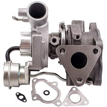 maXpeedingrods Turbokompressor Turbocharger Turbo Coche para Mitsubishi Pajero Shogun Delica 2.8L TD04-12T Turbolader