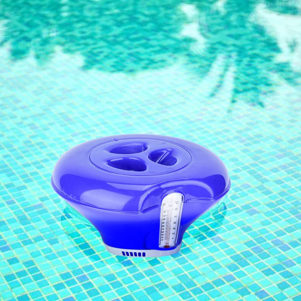 Ajboy Pool Chemical Dispenser Large Premium Floating Chlorine Dispenser for Indoor Outdoor Swimming Pools