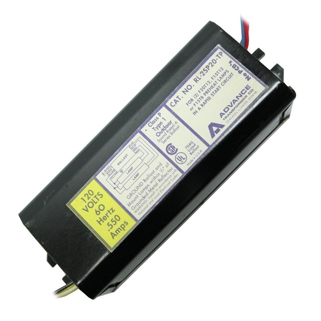 Advance 02200 Rl 2sp20 Tp T12 Fluorescent Ballast Electronic Circuit Free Circuits Home Improvement