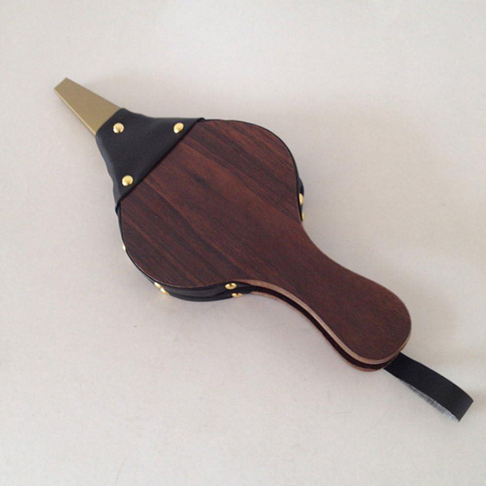 Taille Unique MOOUK Soufflet en Bois Vintage soufflant /à air pour chemin/ée chemin/ée Marron