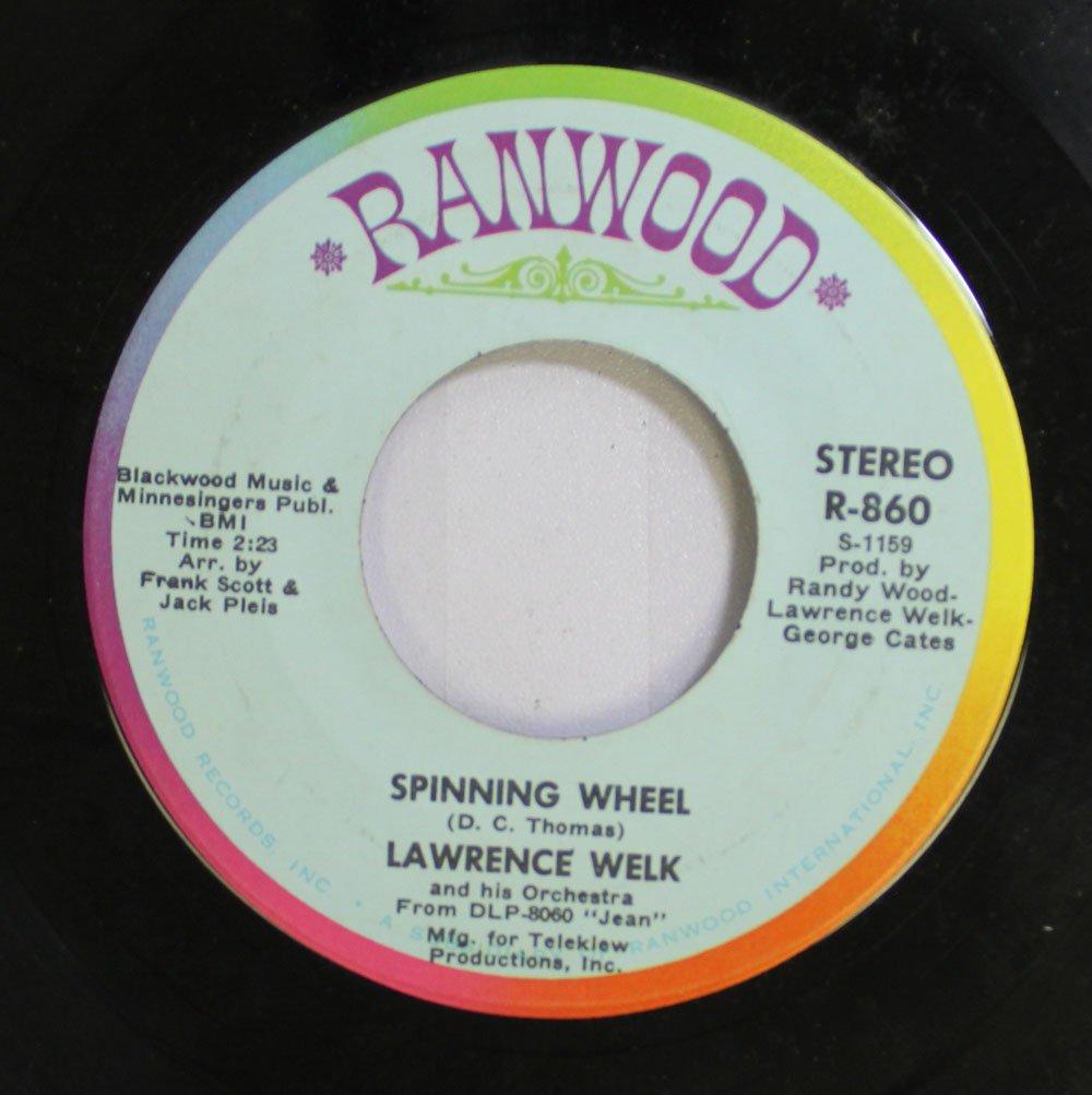 Lawrence Welk 45 RPM Spinning Wheel / Jean: Lawrence Welk: Amazon ...